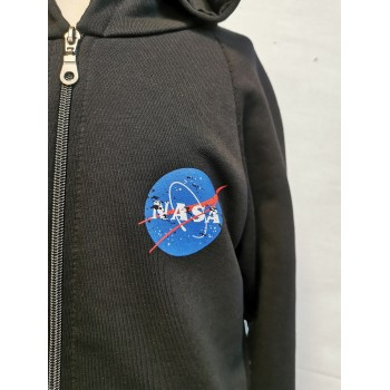 Felpa Full Zip Nasa Back
