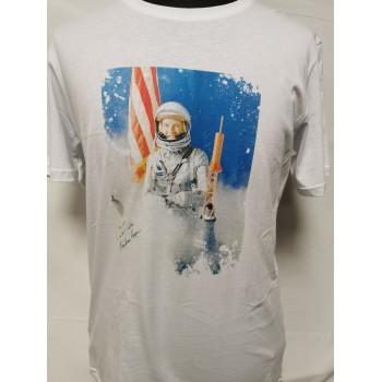 T-shirt Stampa America Luna