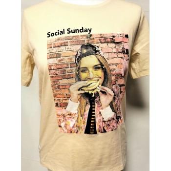 T-shirt M/c Weekday